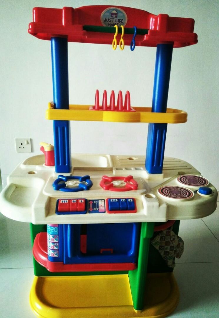 Children kitchen cooking set