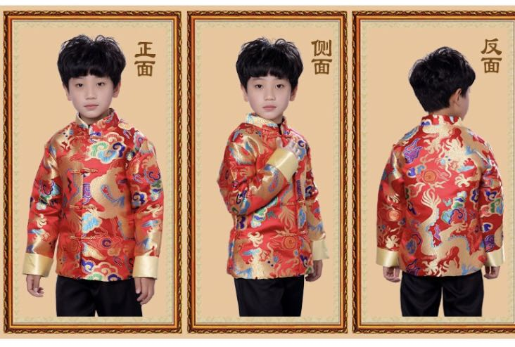3c99cbe2f Chinese traditional costume - Samfu, Babies & Kids, Boys' Apparel, 4 to 7  Years on Carousell