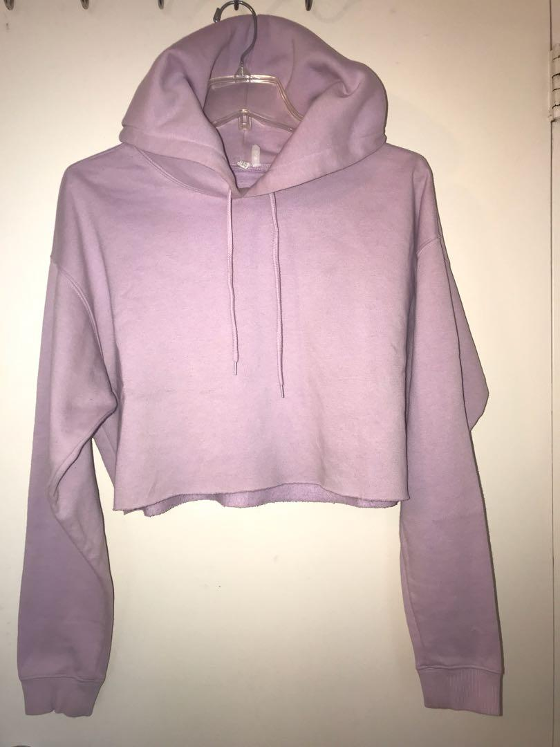 Cropped hoodie by Urban outfitters