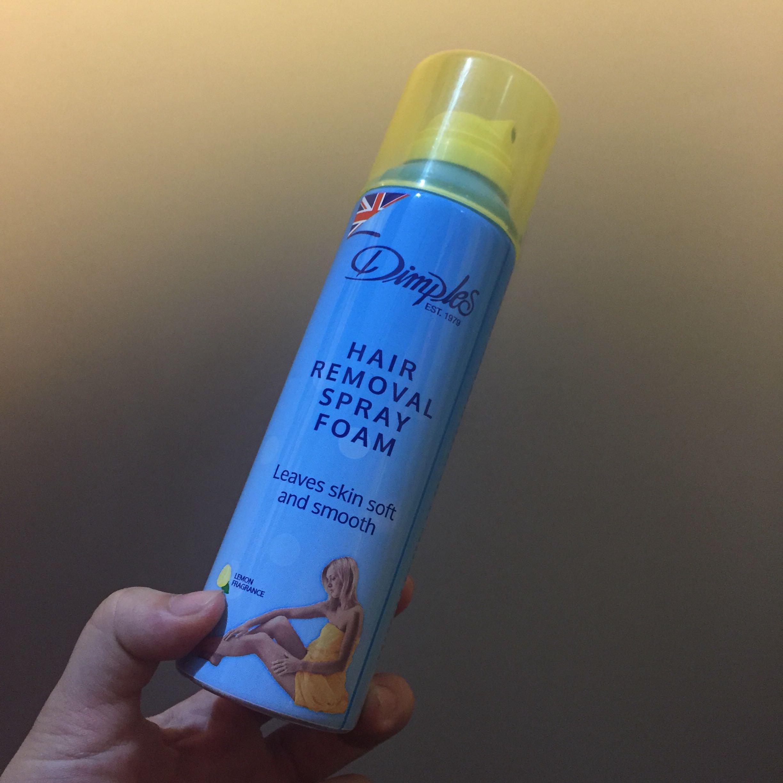 Dimples Hair Removal Spray Foam Health Beauty Hair Bath