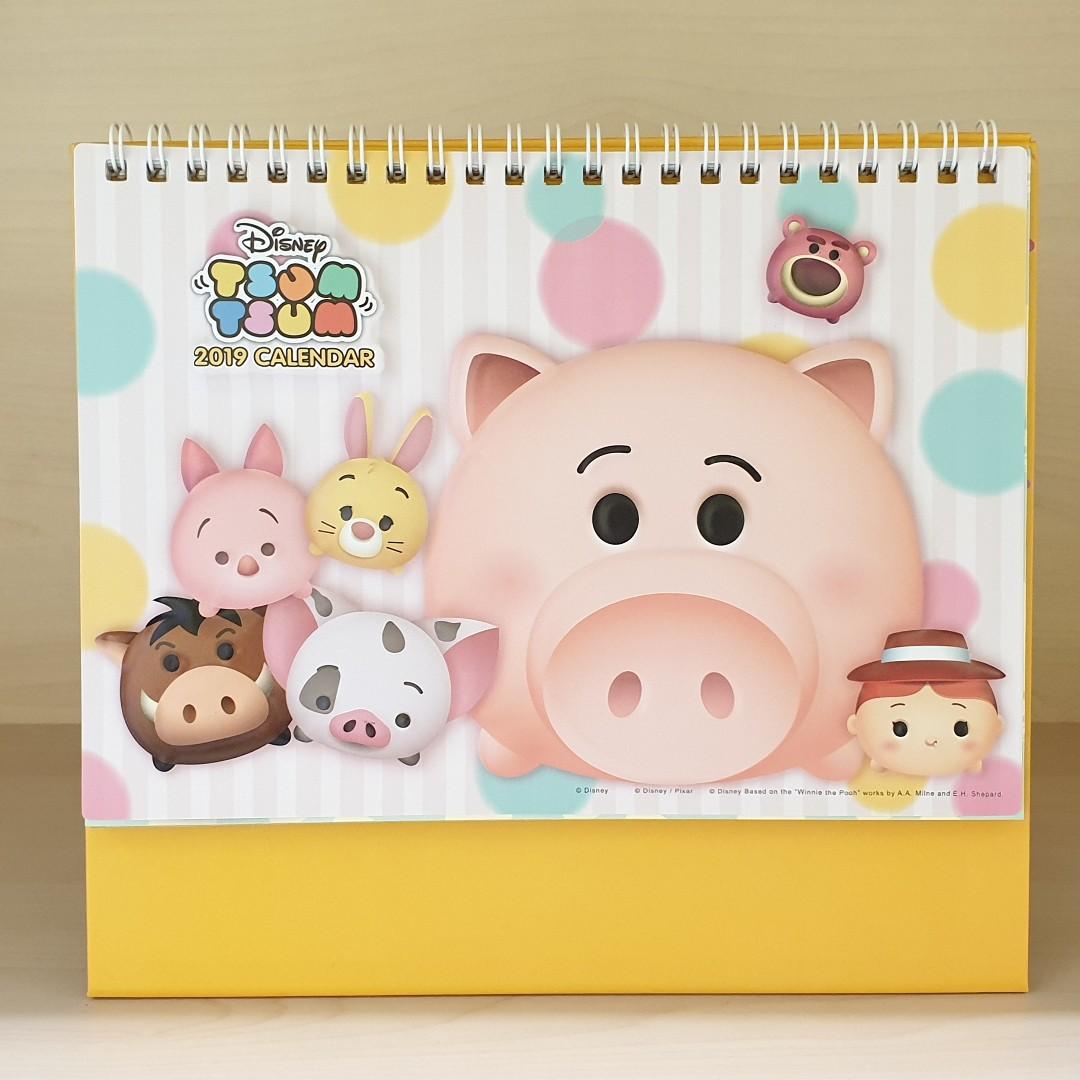 Tsum Tsum Calendar 2020 Disney Tsum Tsum (Year of the Pig Edition) 3D Pop Up 2019 Desk