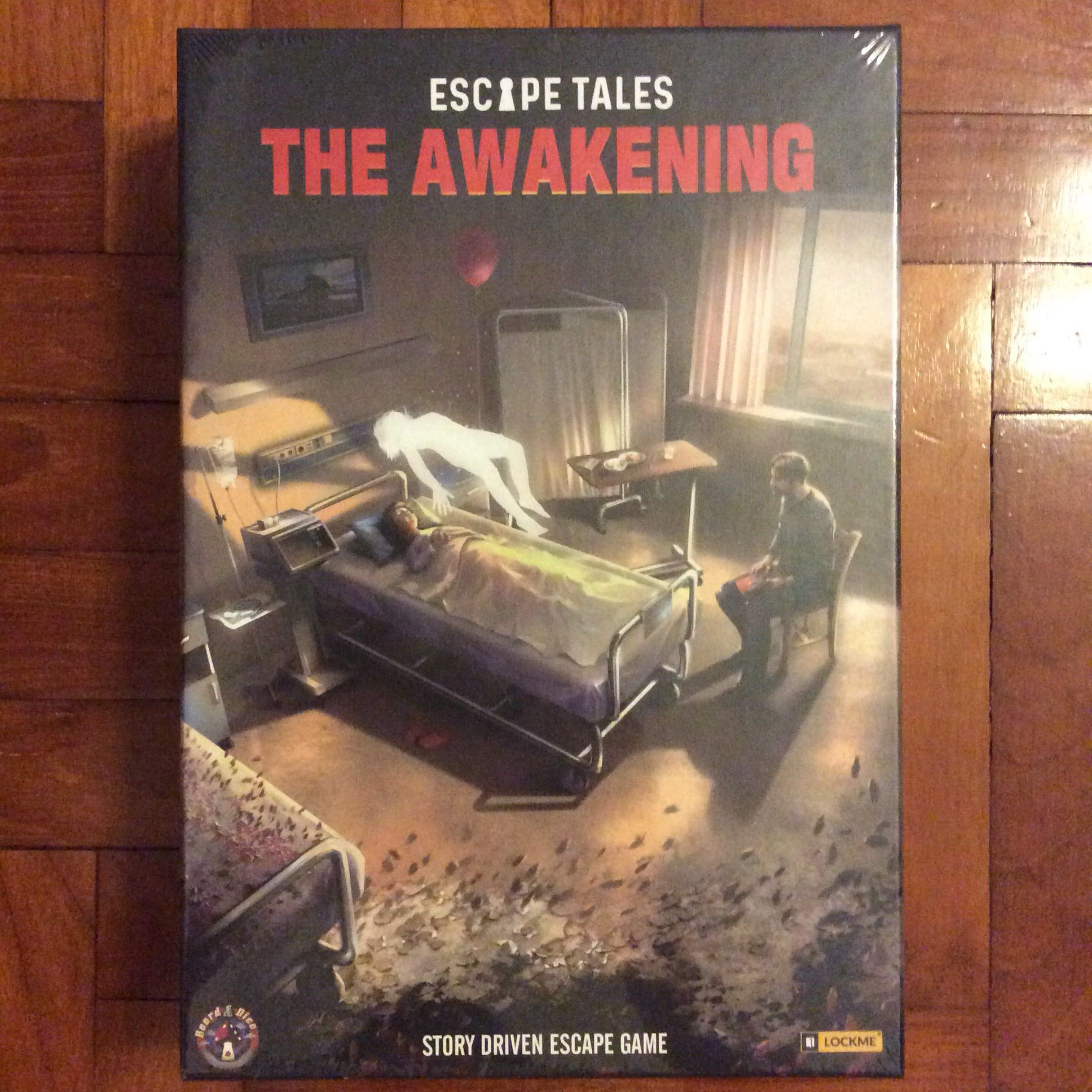 Escape Tales The Awakening Escape Room Card Game Toys Games