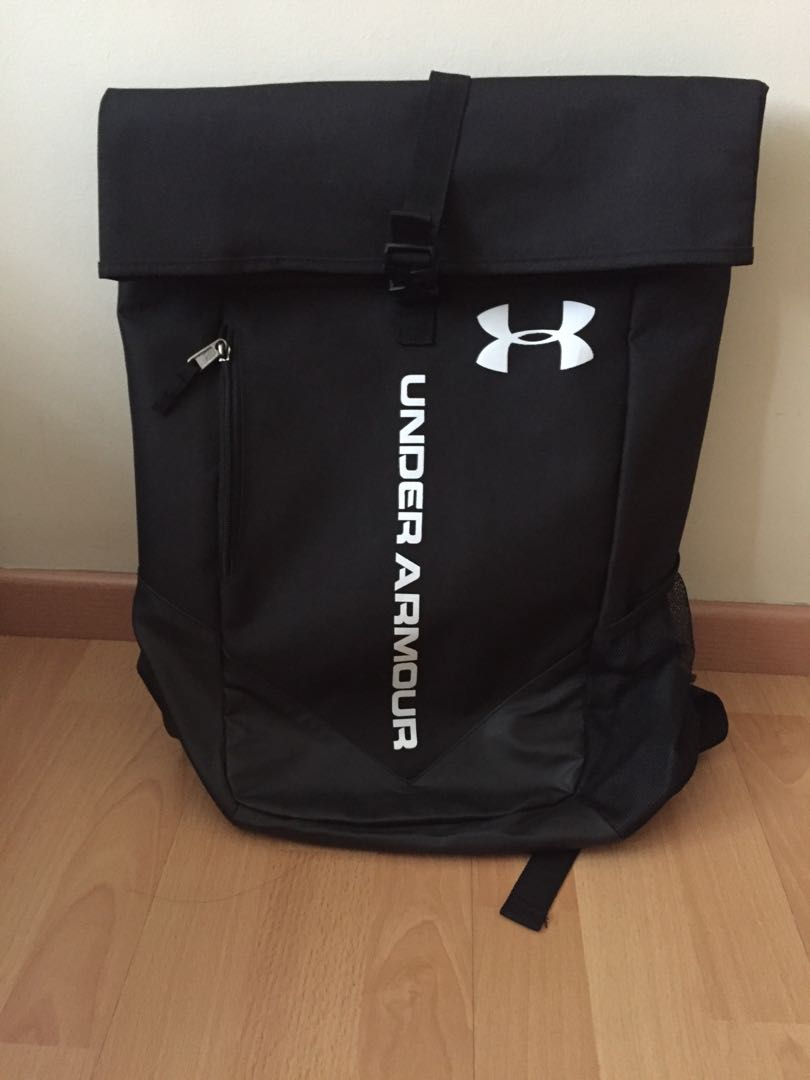 409897c48cbd FLASH SALE) Preloved Under Armour Trance Roll Backpack