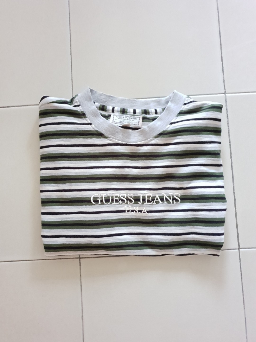 309e722685 Guess Jeans Striped Shirt