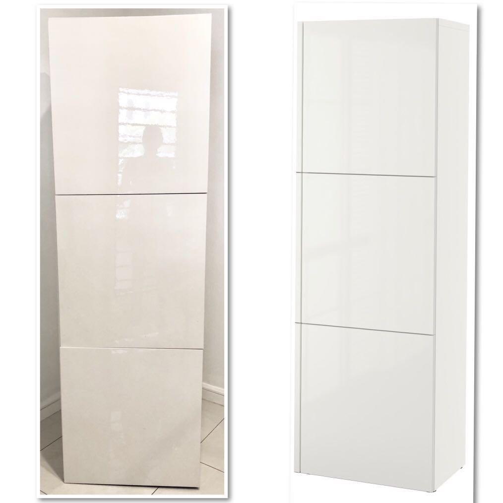 ikea besta wall cabinet home furniture furniture on carousell rh my carousell com ikea besta wall cabinet hack ikea besta wall cabinet canada