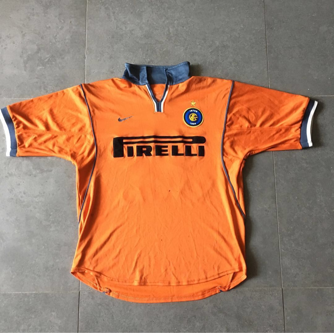 low priced e348f e68c6 Inter Milan Authentic Nike Away Jersey Christian Vieri 32