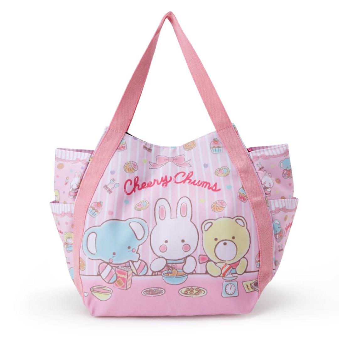 Japan Sanrio Cheery Chums Print Tote Bag (Sweets making), Women s ... 72e233d75f