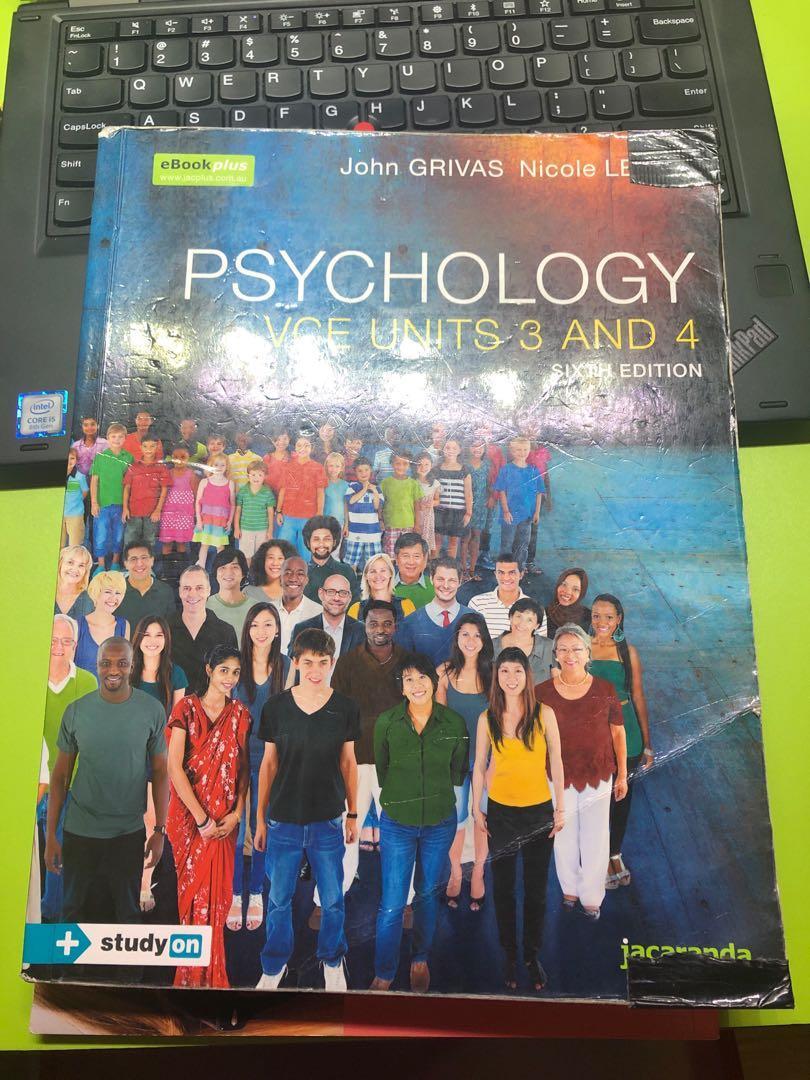 John GRIVAS Psychology Unit 3 and 4 John Grivas