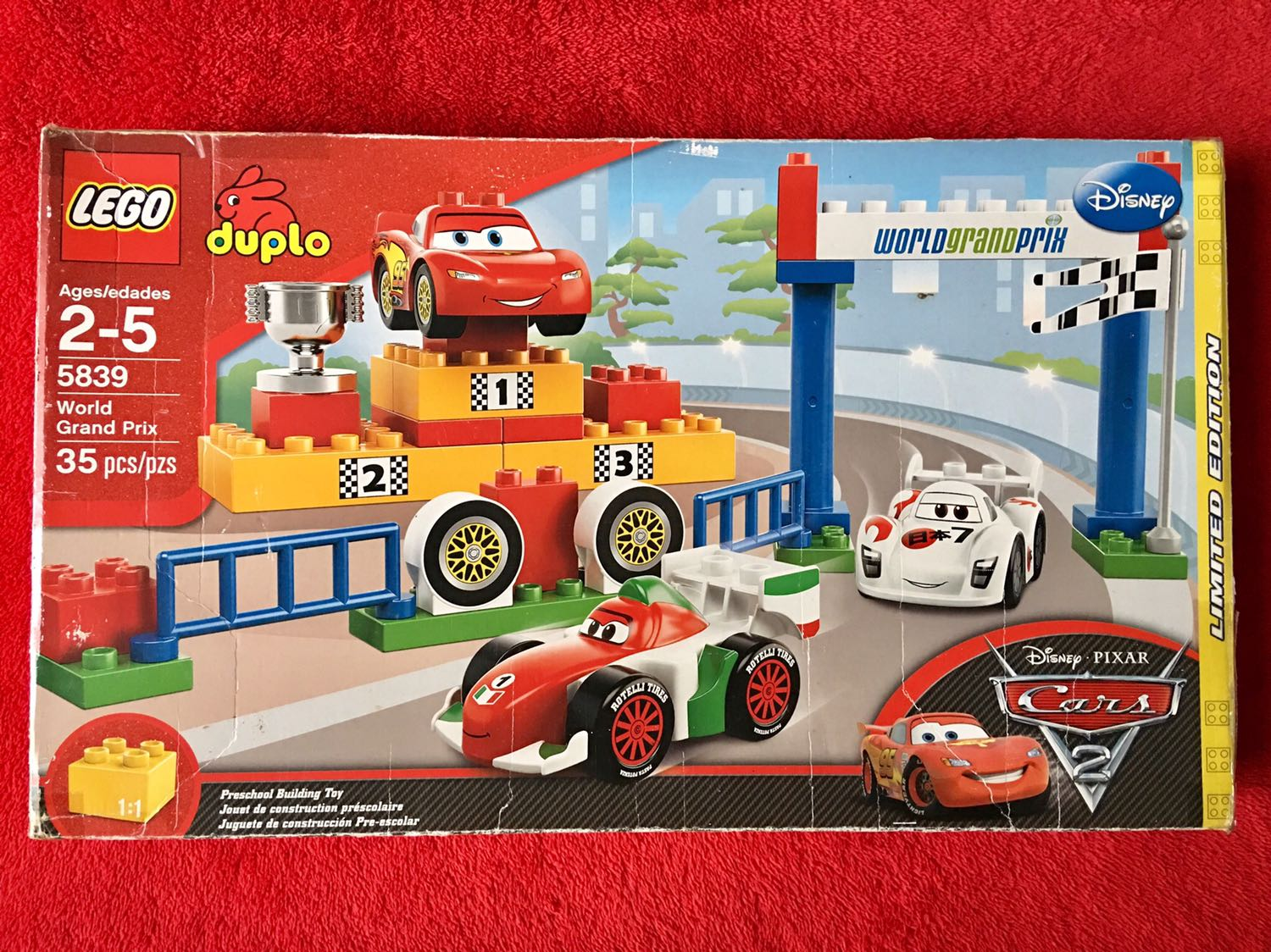 Lego Duplo 5839 Cars Limited Edition Babies Kids