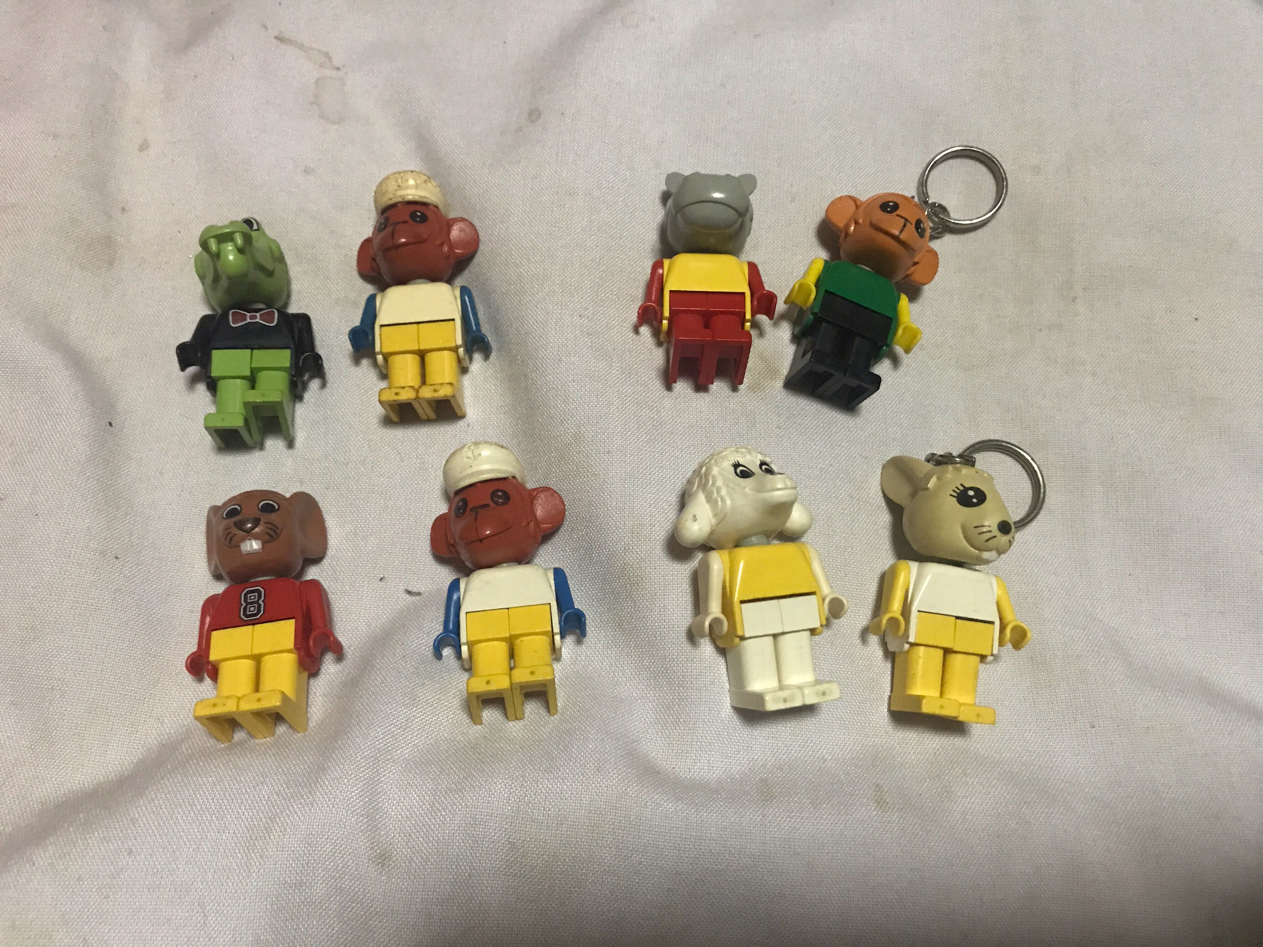 Lego Fabuland Figure Lot Toys Games Bricks Figurines On Carousell