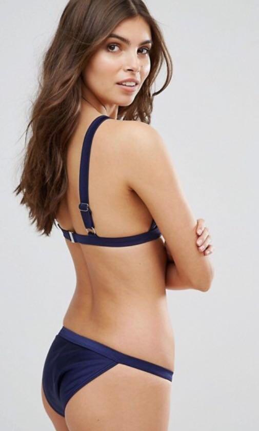 minkpink navy bikini set