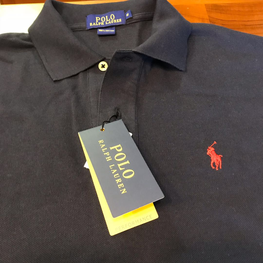 d08145020 Navy Ralph Lauren Polo Tee, Men's Fashion, Clothes, Tops on Carousell