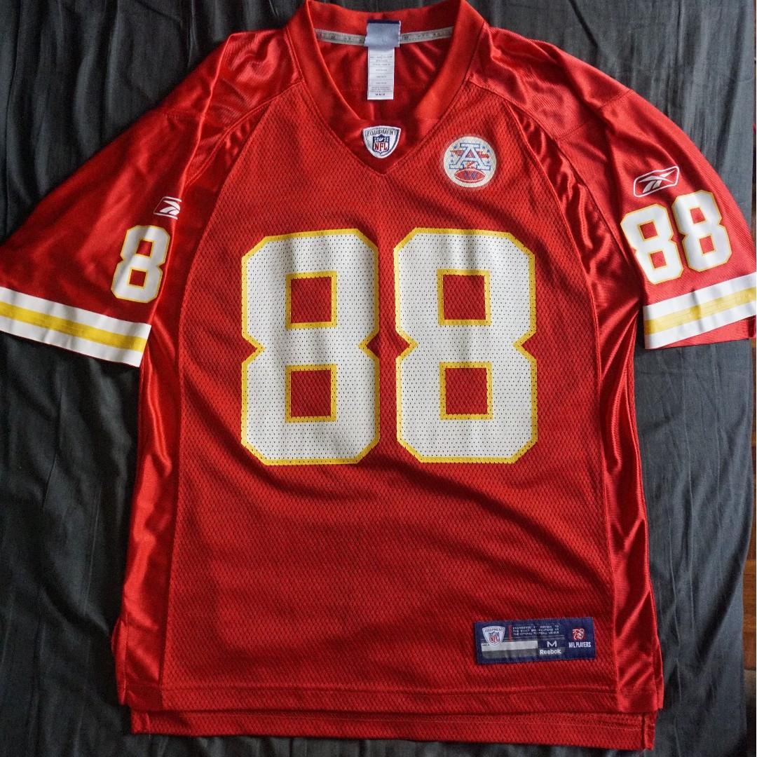 0c9d36afc NFL Kansas City Chiefs Tony Gonzalez  88 Reebok Jersey (Medium ...