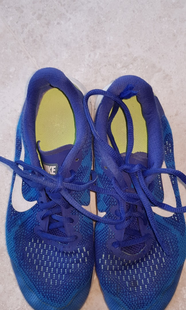 innovative design 197d2 569d3 Nike blue white green sneakers size US 5 1 2, Men s Fashion ...