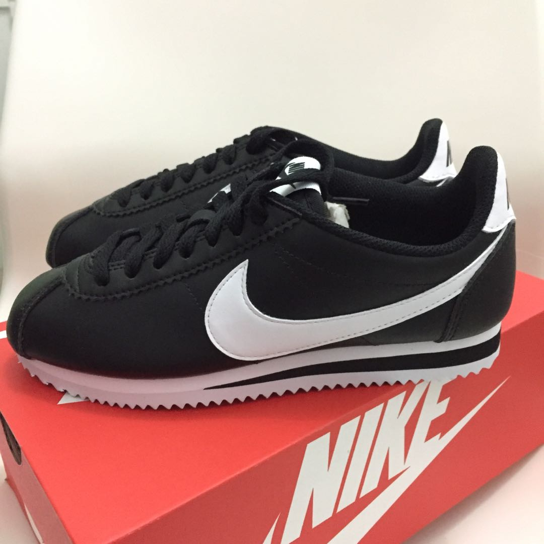 Nike Classic Cortez Leather Womens Fashion Shoes On Carousell