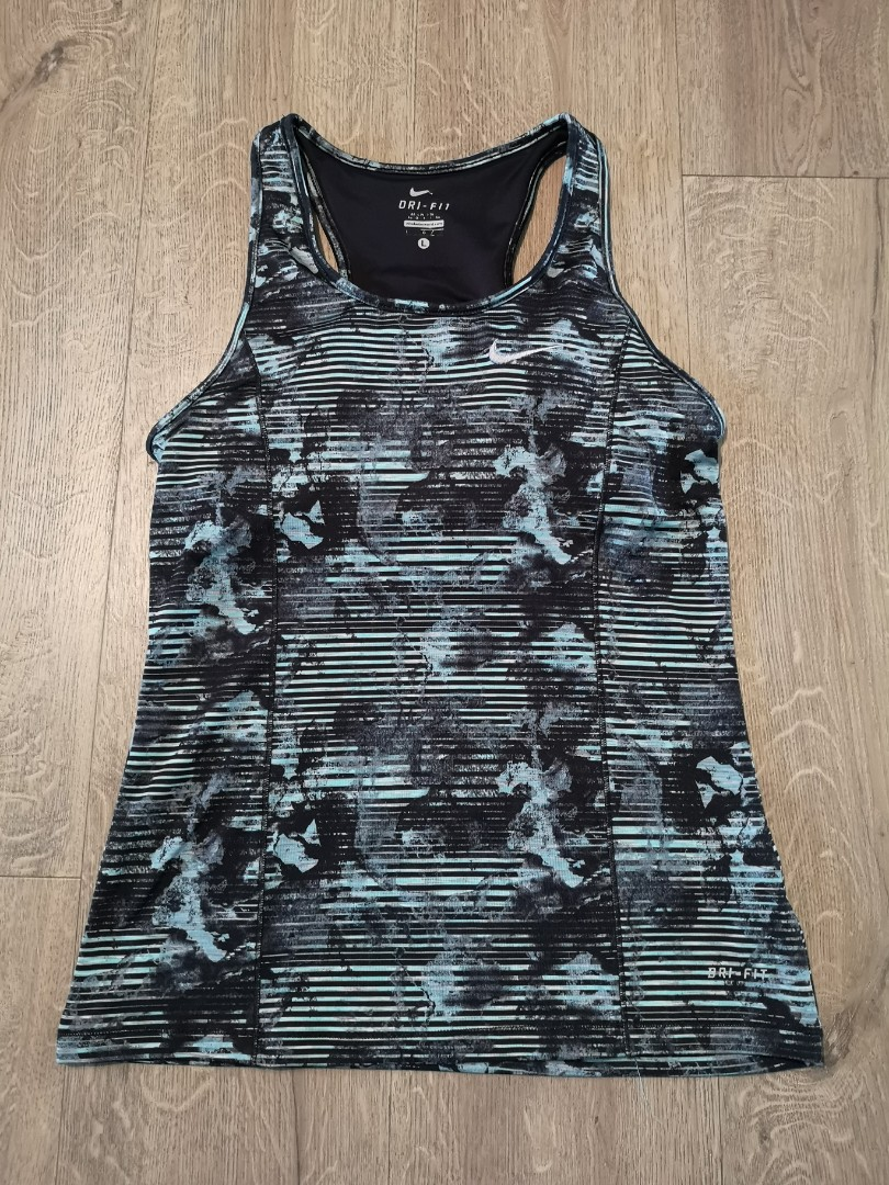 f1b9ed8175 Nike Dri Fit tank top with bra padding ladies (copy)