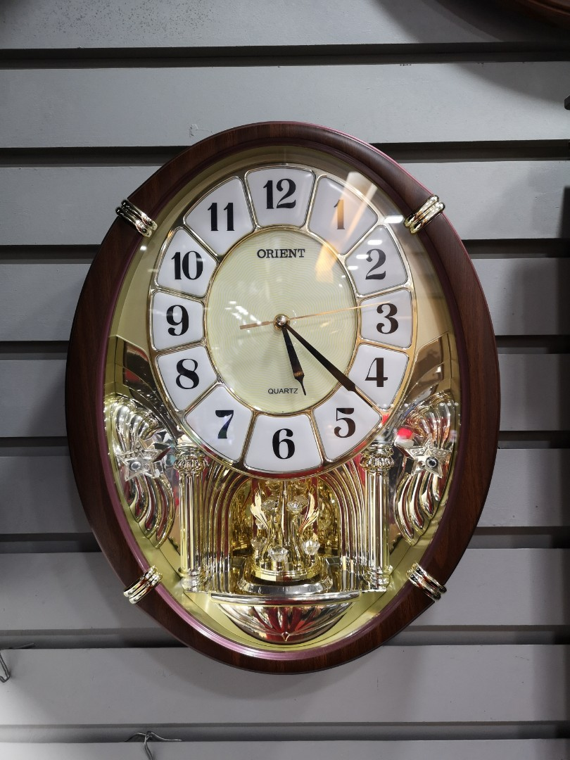 Orient Wall Clock with 16 Melody