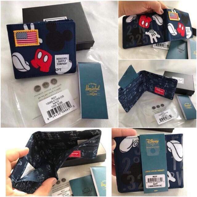 0562cbf961b Original Herschel Mickey Mouse Wallet