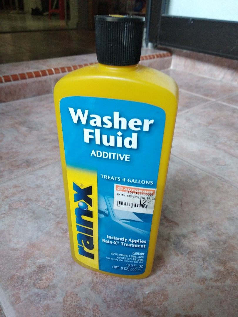 Rainx Washer Additive Fluid