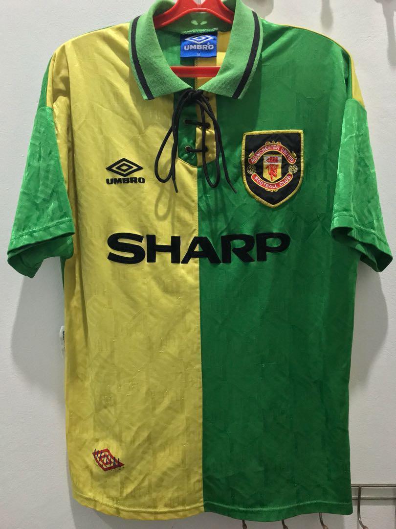 uk availability 20f96 70c24 *Rare* Manchester United 1992/94 Newton Heath Kit