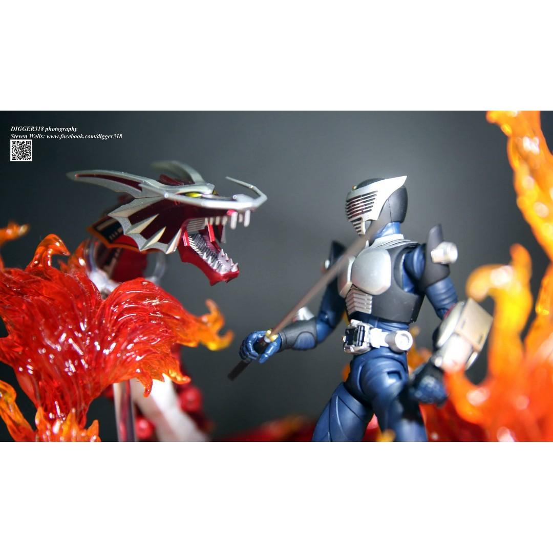 SHF 幪面超人 龍騎 Ryuki Dragon Knight Blank Form Tamashii Nation 2011