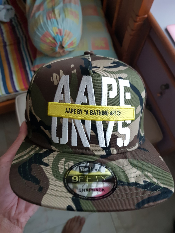Snapback AAPE cap new era a10ca780b8e0