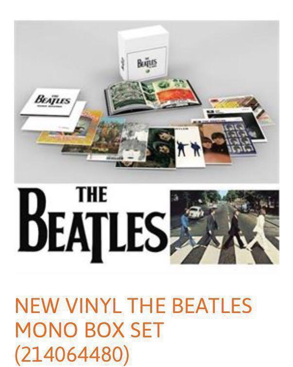 The Beatles In Mono Vinyl Box Set. Limited BRAND NEW!!!