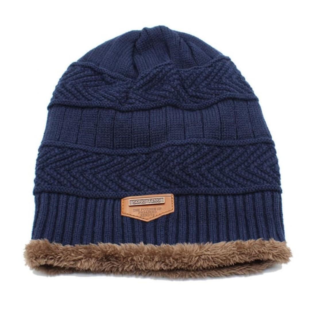 Topi Kupluk Fur Beanie Hat Wool - Topi Kupluk Wool Tebal Import Unisex c49ece04ba