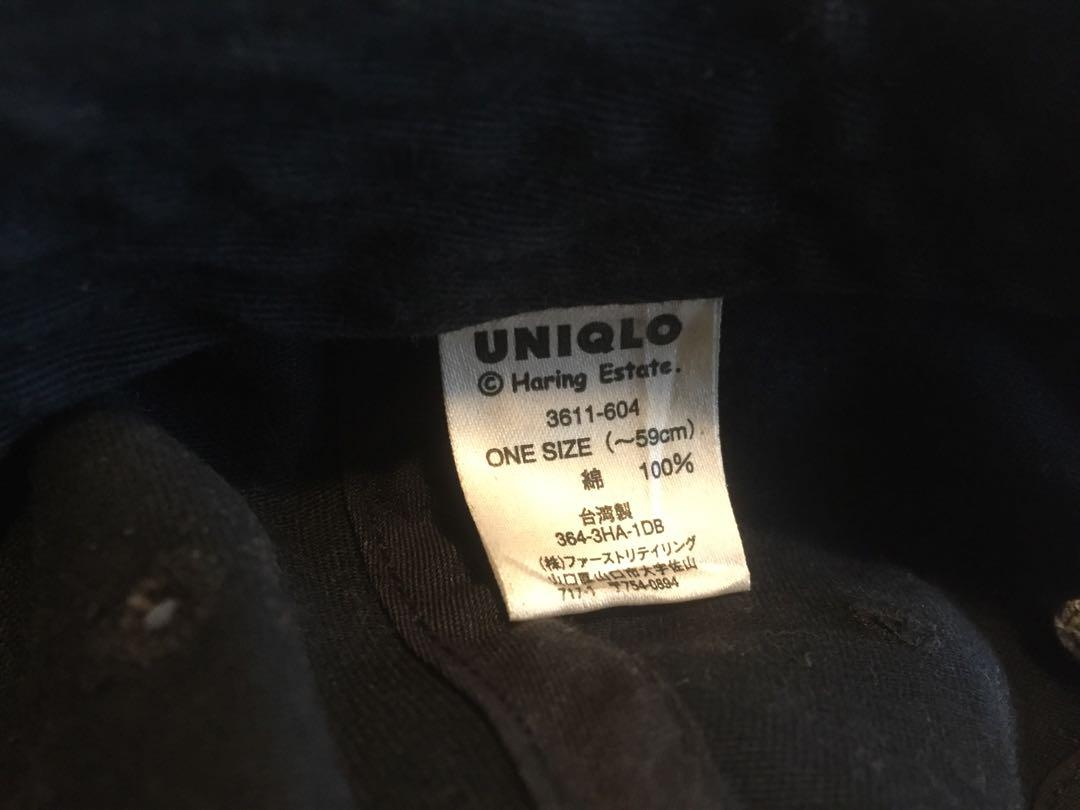 e4eb647a Uniqlo x Keith Haring dad hat, Men's Fashion, Accessories, Caps ...