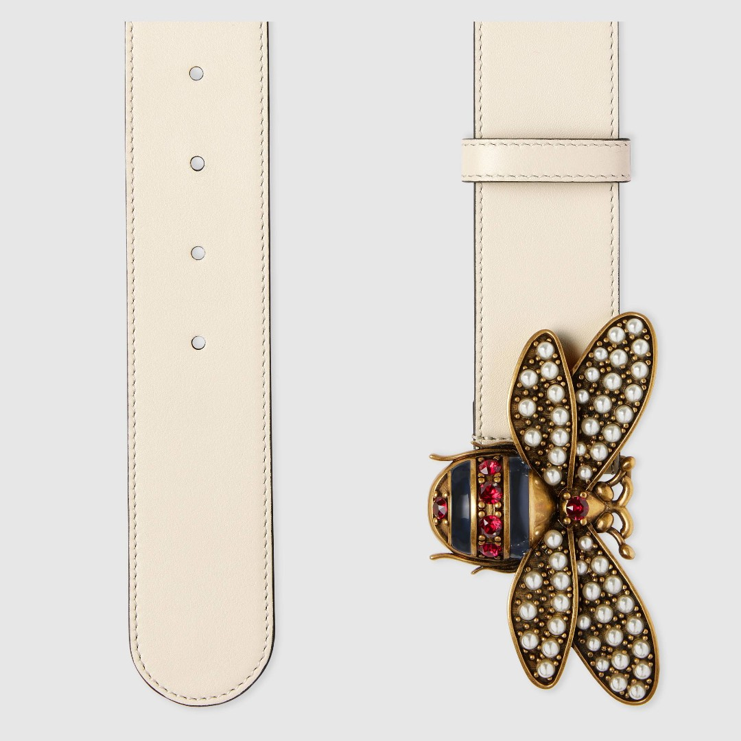 0619a6f1d1ae White Queen Margaret leather belt