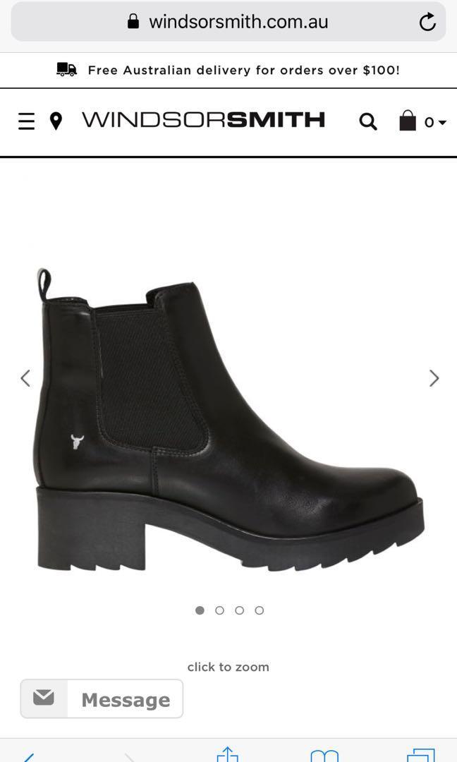 Windsor Smith alita boots