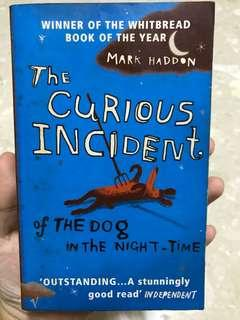 The Curious Incident About A Dog In The Night Time - Mark Haddon