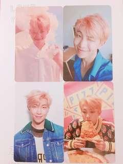 OFFICIAL BTS RM CARD