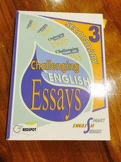 Secondary 3/ Sec 3 English Essay composition  Assessment Book