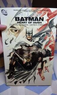 Batman Heart of Hush by Paul Dini DC Comics Vertigo