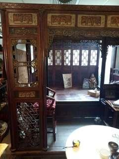 Late qing bed 120years