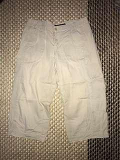 FCUK French connection short quarter pant w30