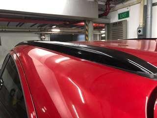 HRV / Vezel roof rail gloss black wrap