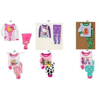 Clearance PJ for girl 1-2yrs old