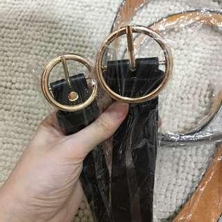 FLASH SALE $9.90 Brand new black vintage circle belt