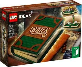 Lego 21315 pop up book