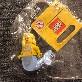 Lego Keychain mermaid 美人魚