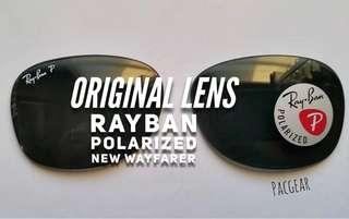 Authentic Polarized RayBan New Wayfarer RB2132 52mm Glasses Only