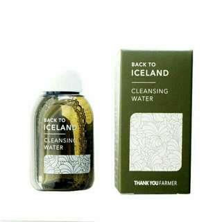 Thank you farmer back to Iceland cleansing water 30ml (deluxe size)