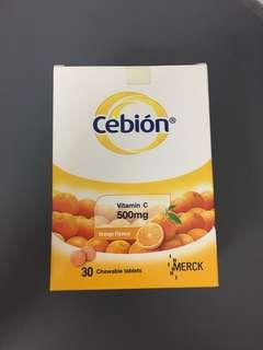 Cebion Vitamin C Chewable Tablets