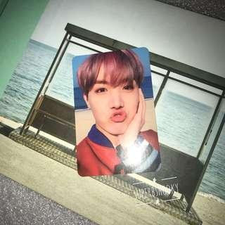 BTS YNWA [J-HOPE] OFFICIAL PHOTOCARD