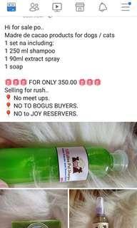 Shampoo, soap and spray