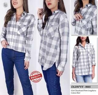 OldNavy Plaid Shirt Kemeja Casual