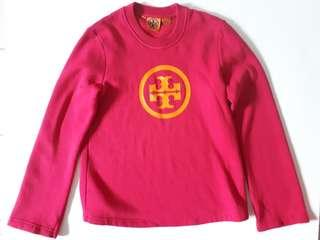 Tory Burch Hot Pink Pullover Sweater size Small