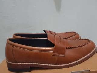 Portee Loafer slippers calf tan not Sagara, junkard company, Txture,  santalum, brodo